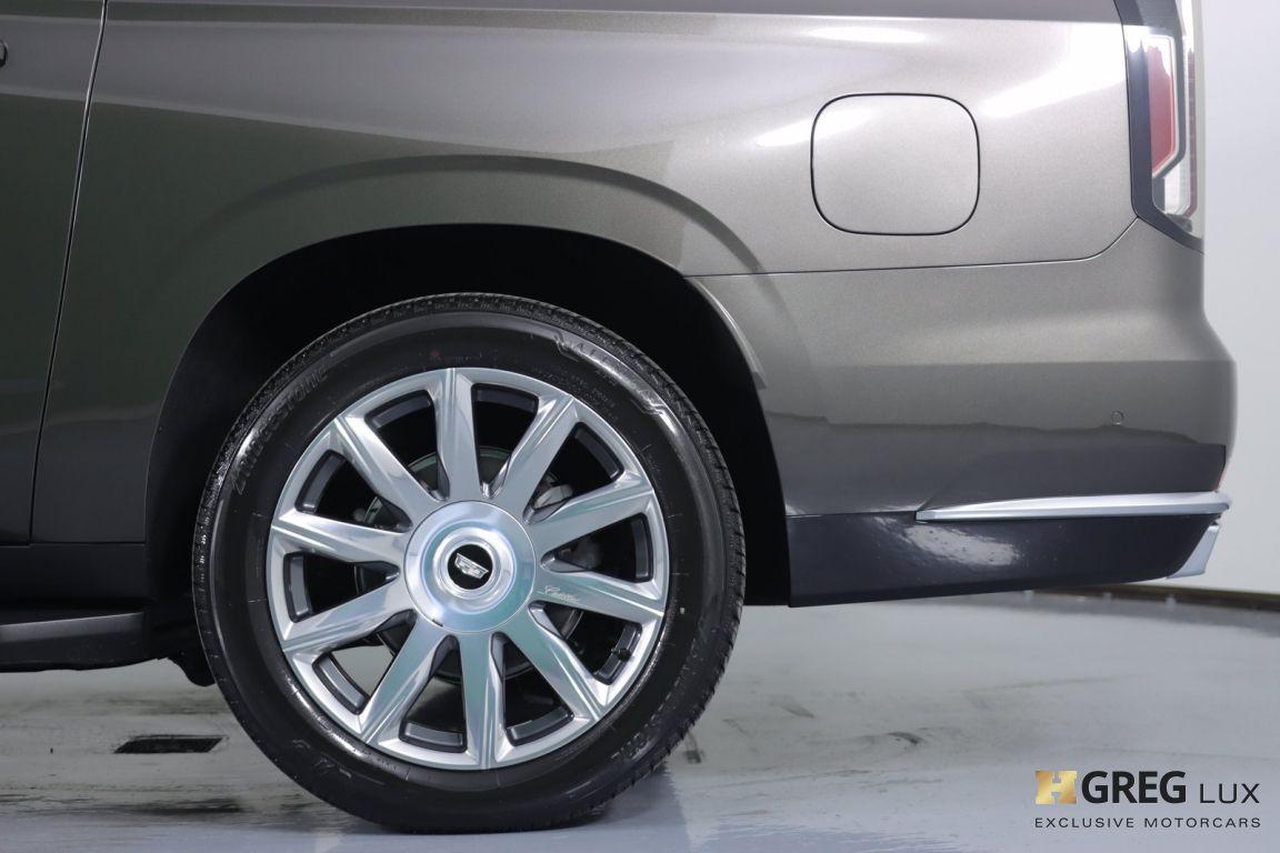 2021 Cadillac Escalade ESV Premium Luxury Platinum #25