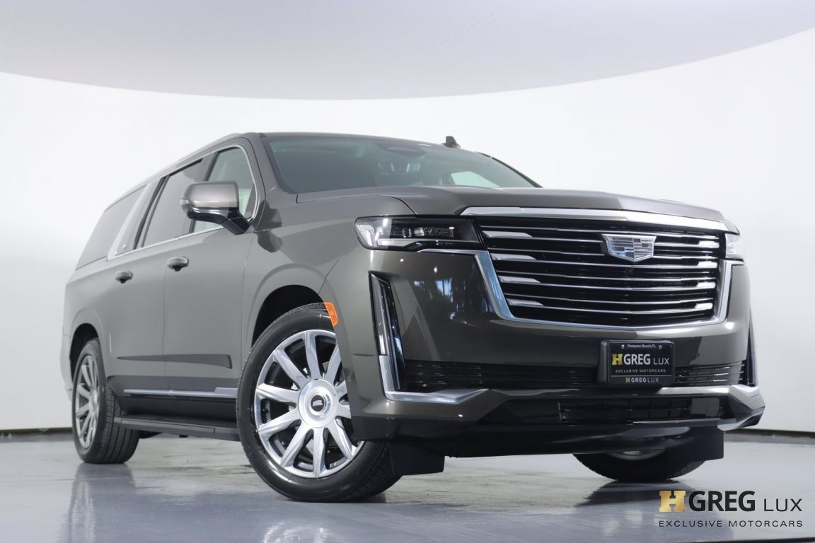 2021 Cadillac Escalade ESV Premium Luxury Platinum #3