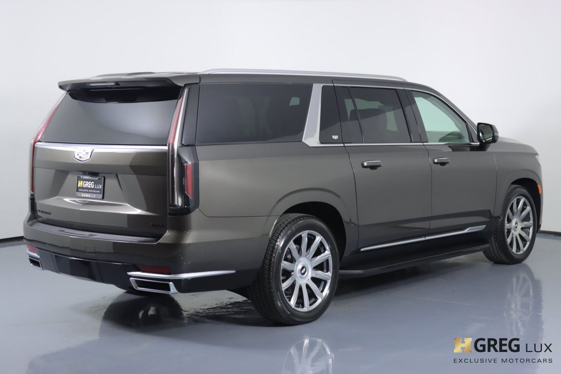2021 Cadillac Escalade ESV Premium Luxury Platinum #16