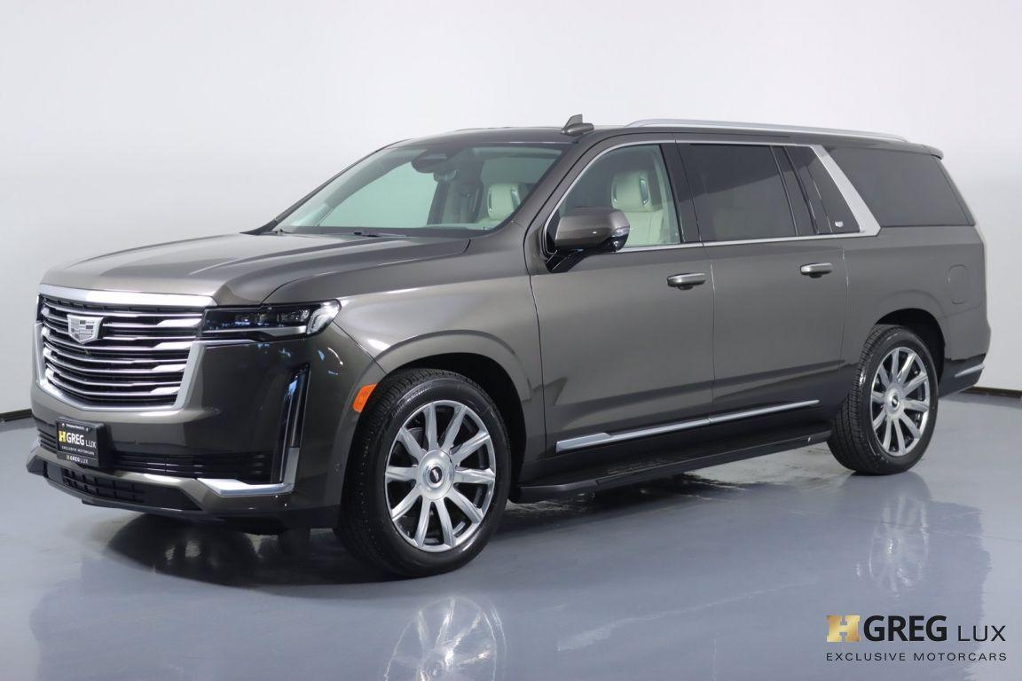 2021 Cadillac Escalade ESV Premium Luxury Platinum #27