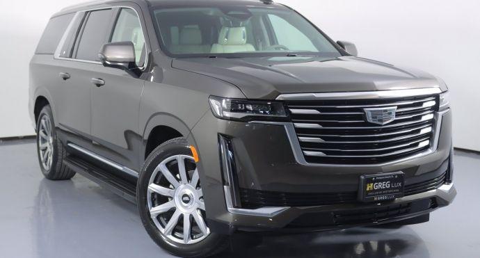 2021 Cadillac Escalade ESV Premium Luxury Platinum #0