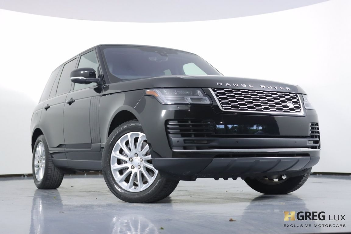 2019 Land Rover Range Rover HSE #28