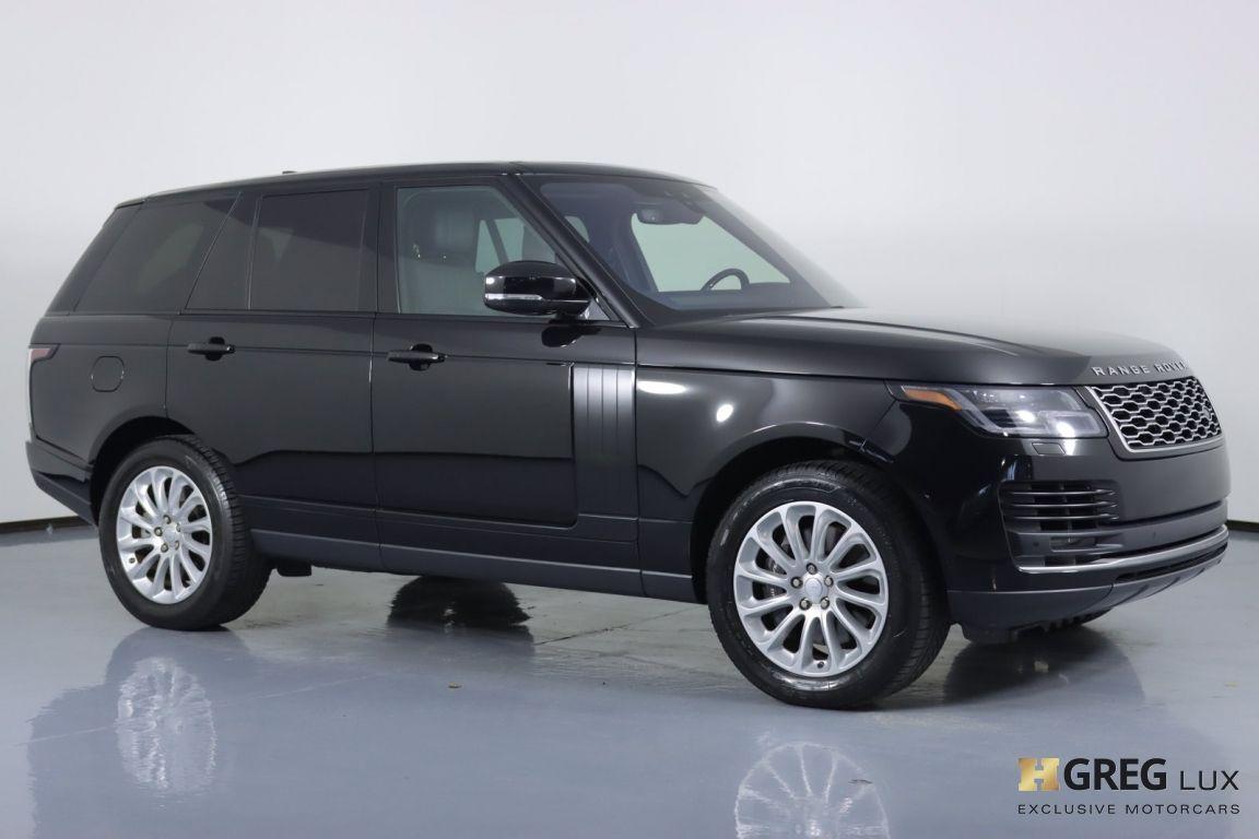 2019 Land Rover Range Rover HSE #9
