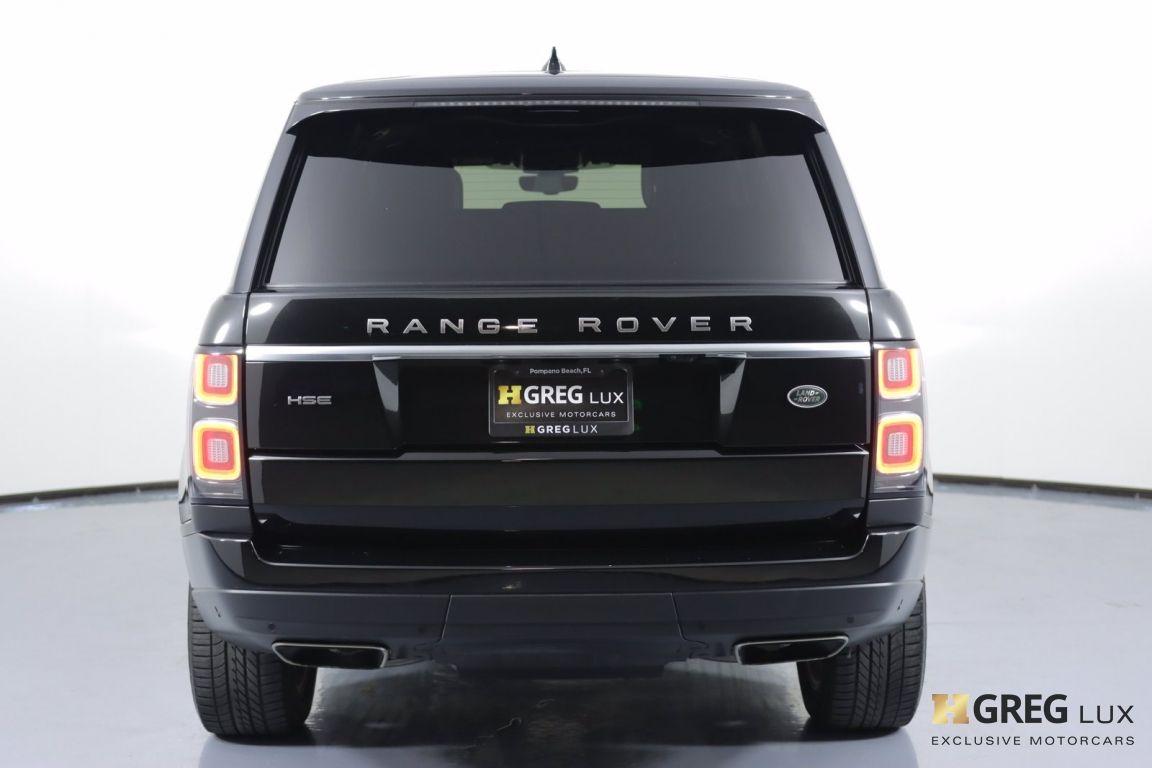 2019 Land Rover Range Rover HSE #16
