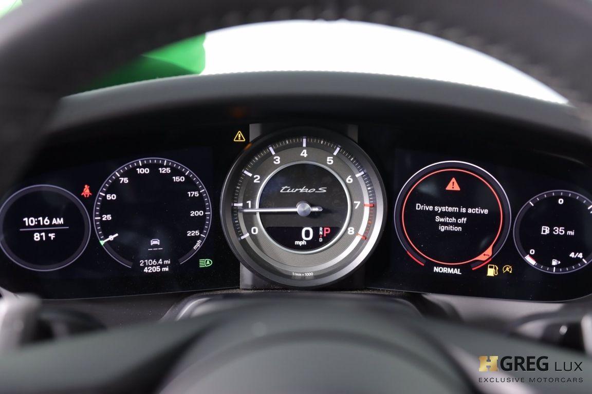 2020 Porsche 911 Turbo S #50