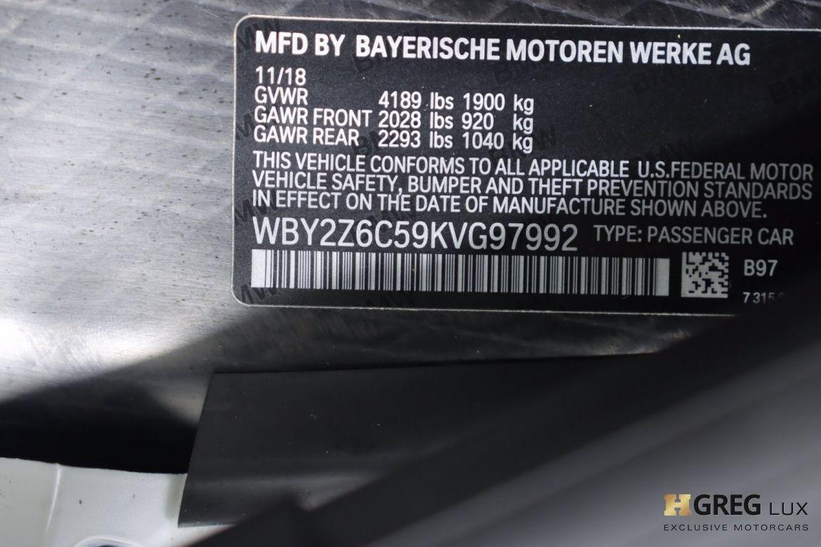 2019 BMW i8 Roadster #50