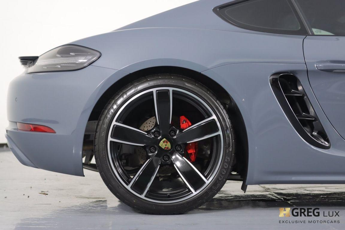 2018 Porsche 718 Cayman S #13