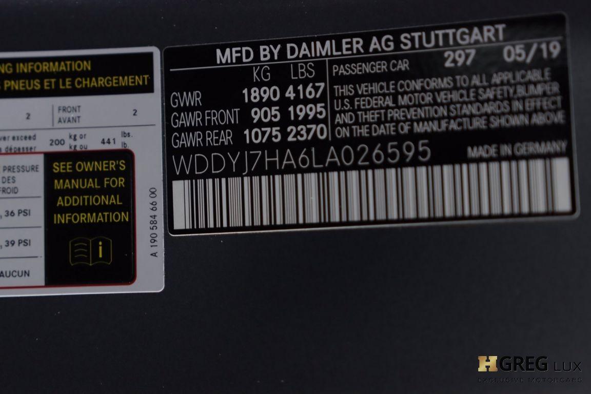 2020 Mercedes Benz AMG GT  #48
