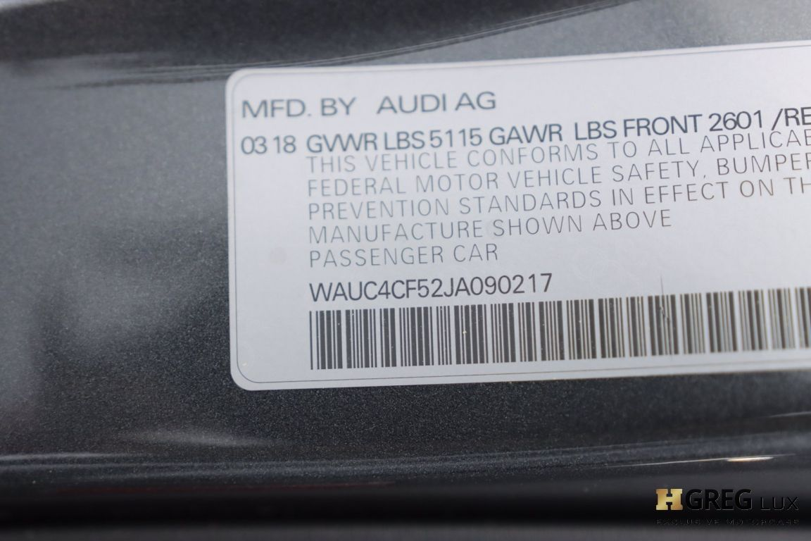 2018 Audi S5 Sportback Prestige #58