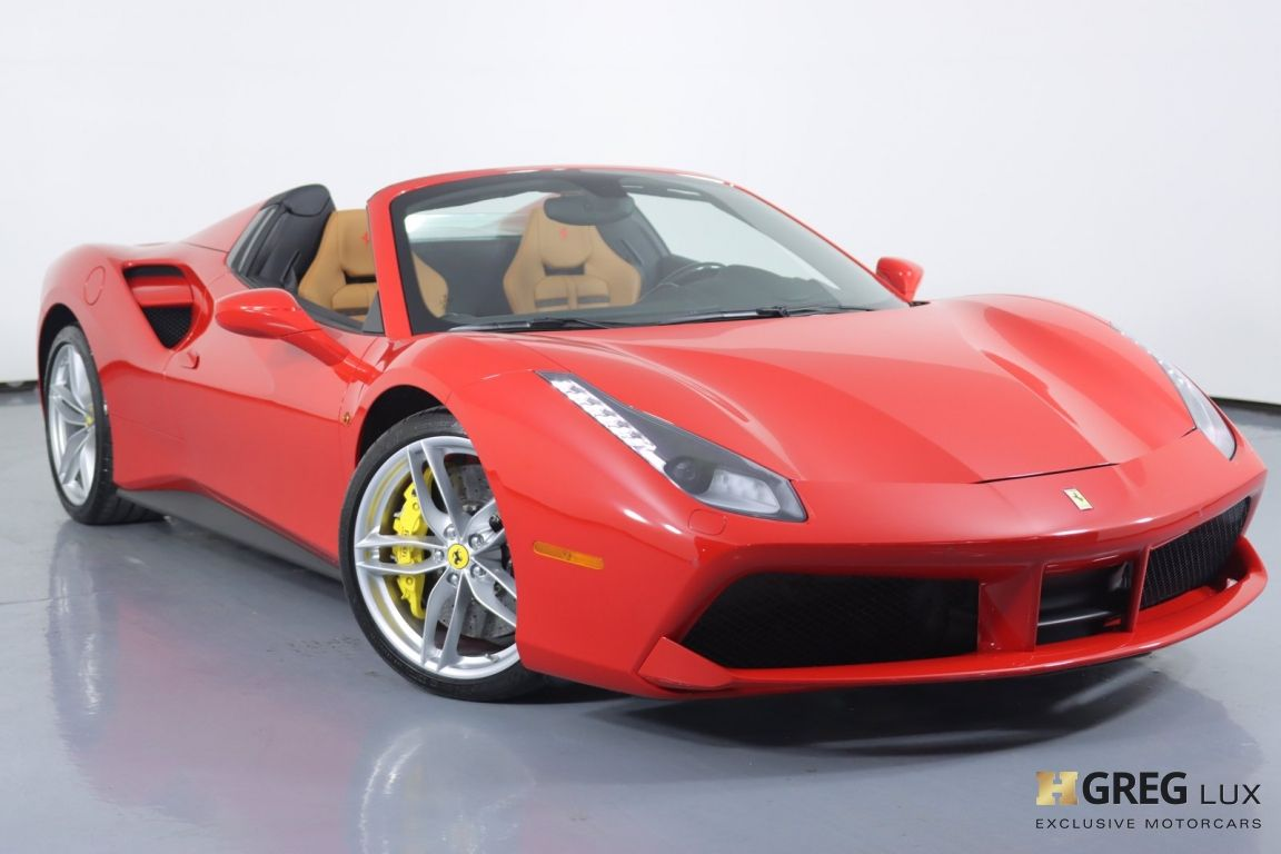 2018 Ferrari 488 Spider Base #0