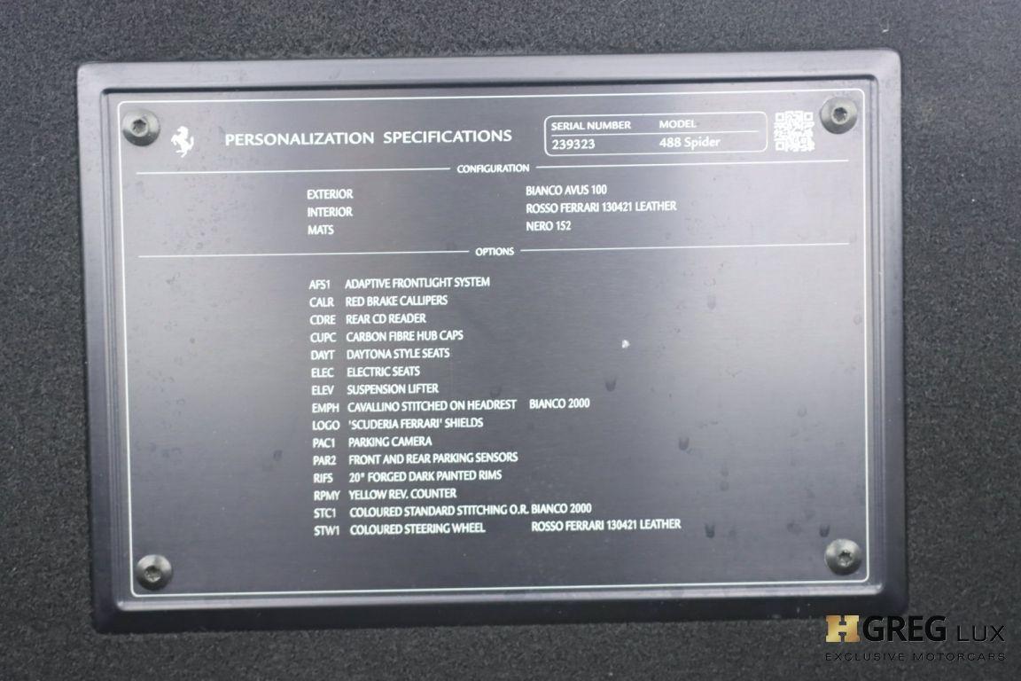 2019 Ferrari 488 Spider  #52