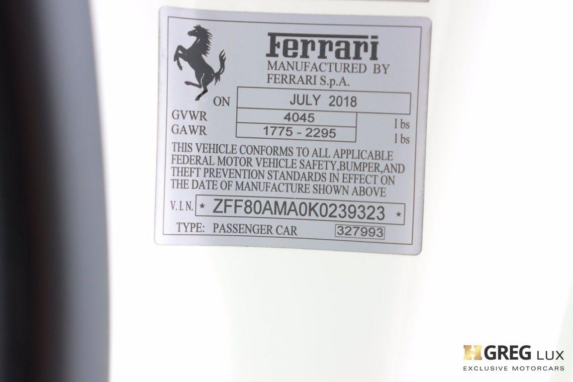 2019 Ferrari 488 Spider  #54