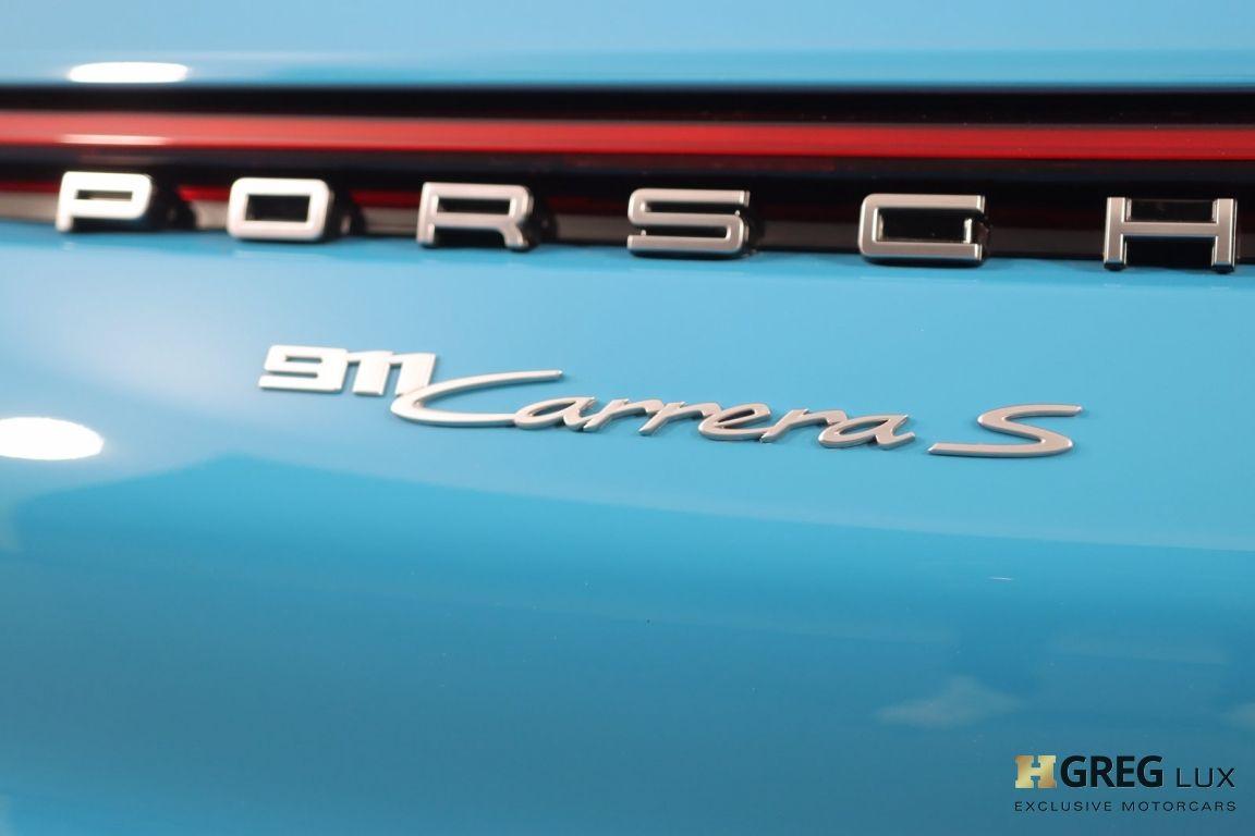 2020 Porsche 911 Carrera S #22