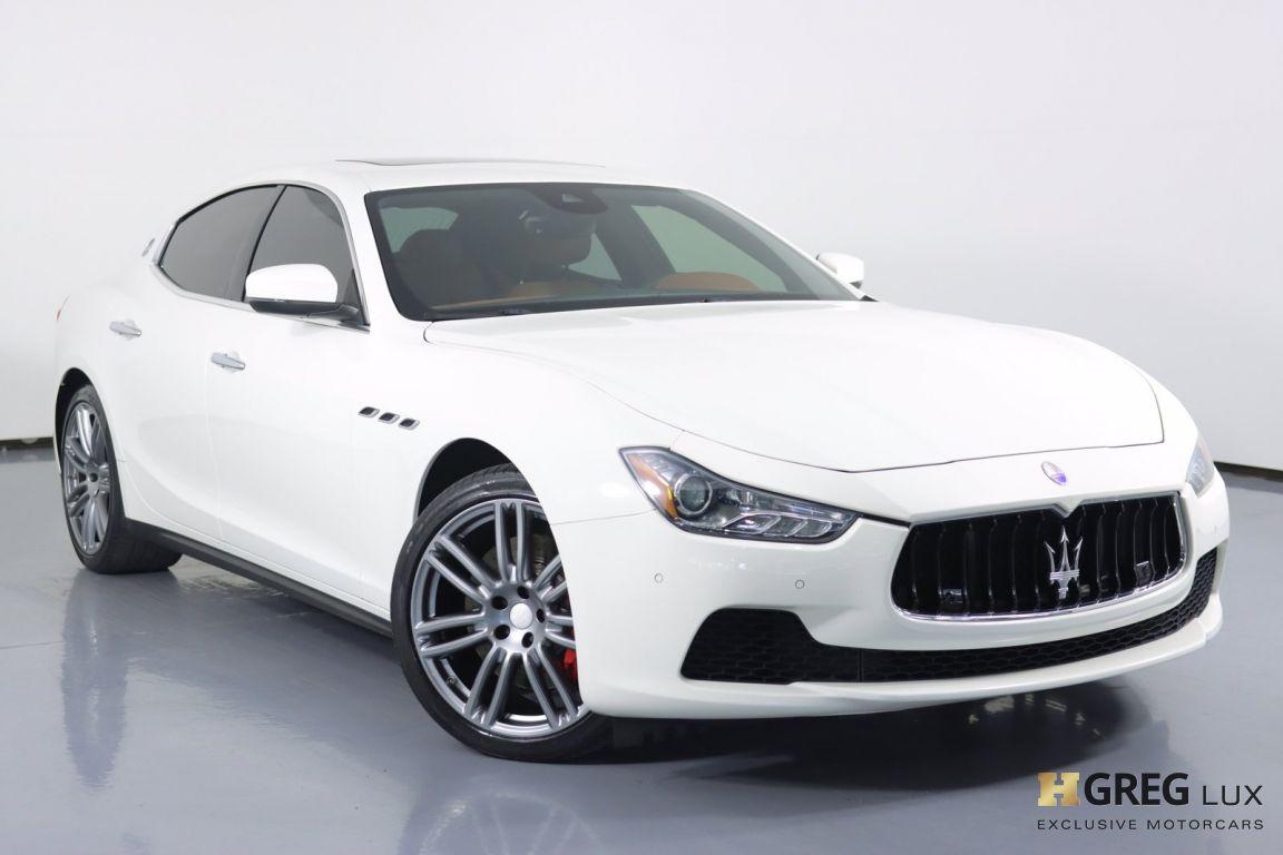 2017 Maserati Ghibli S #0