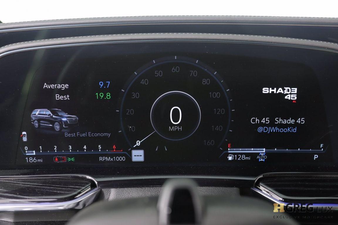 2021 Cadillac Escalade Sport #44