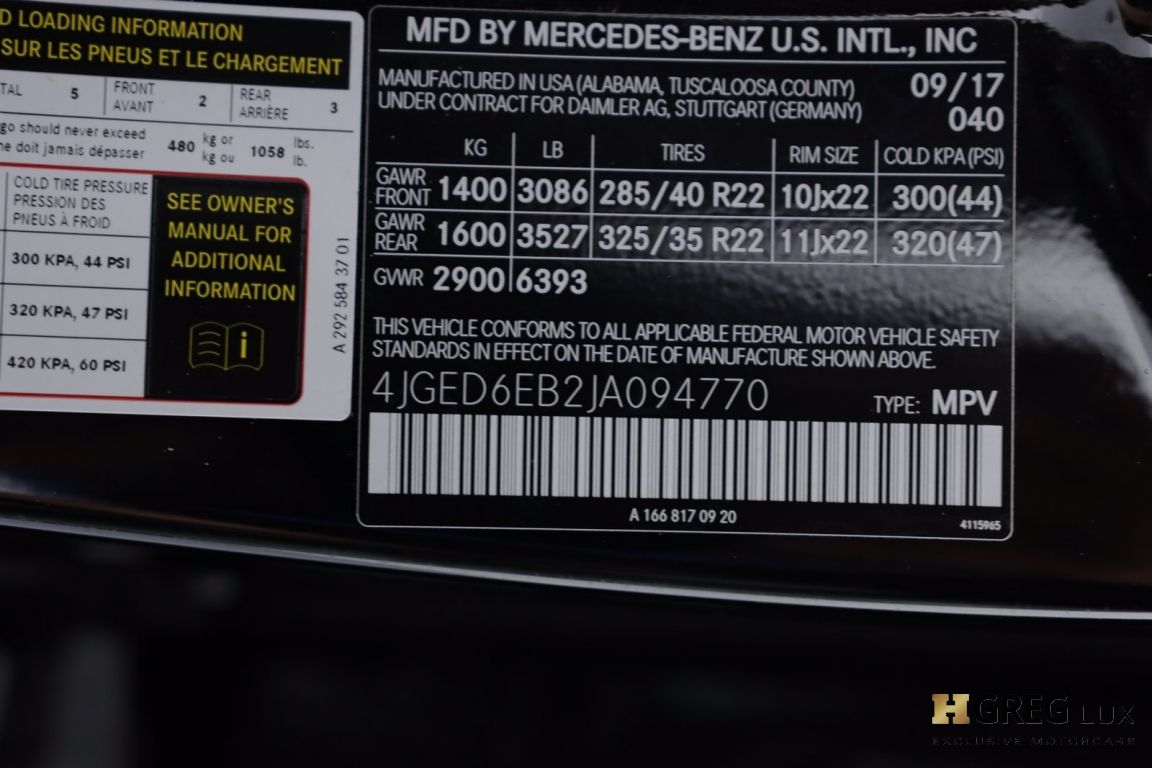 2018 Mercedes Benz GLE AMG GLE 43 #57