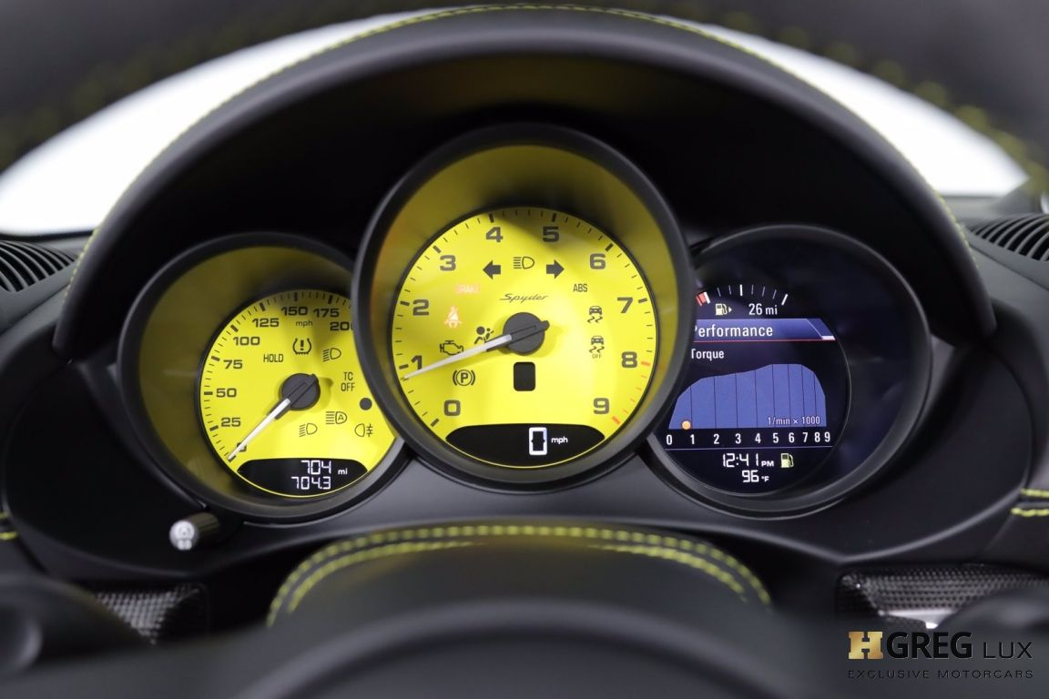 2021 Porsche 718 Spyder  #44