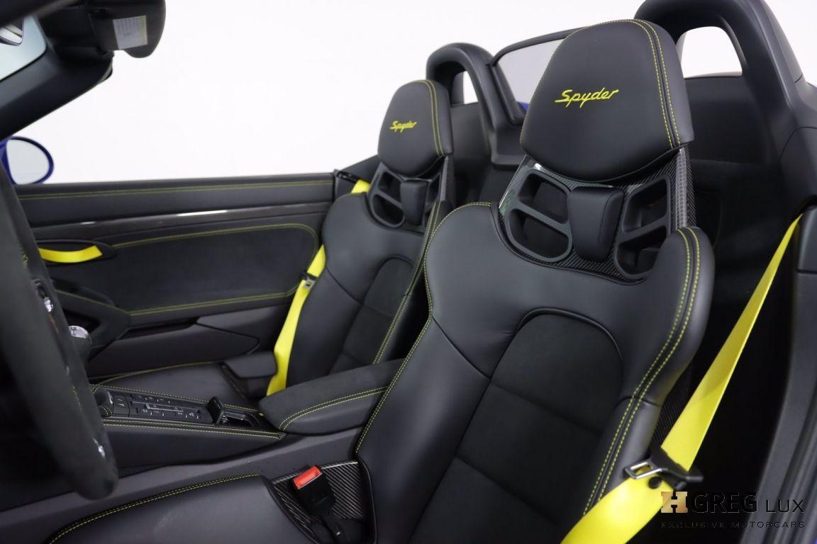 2021 Porsche 718 Spyder  #2