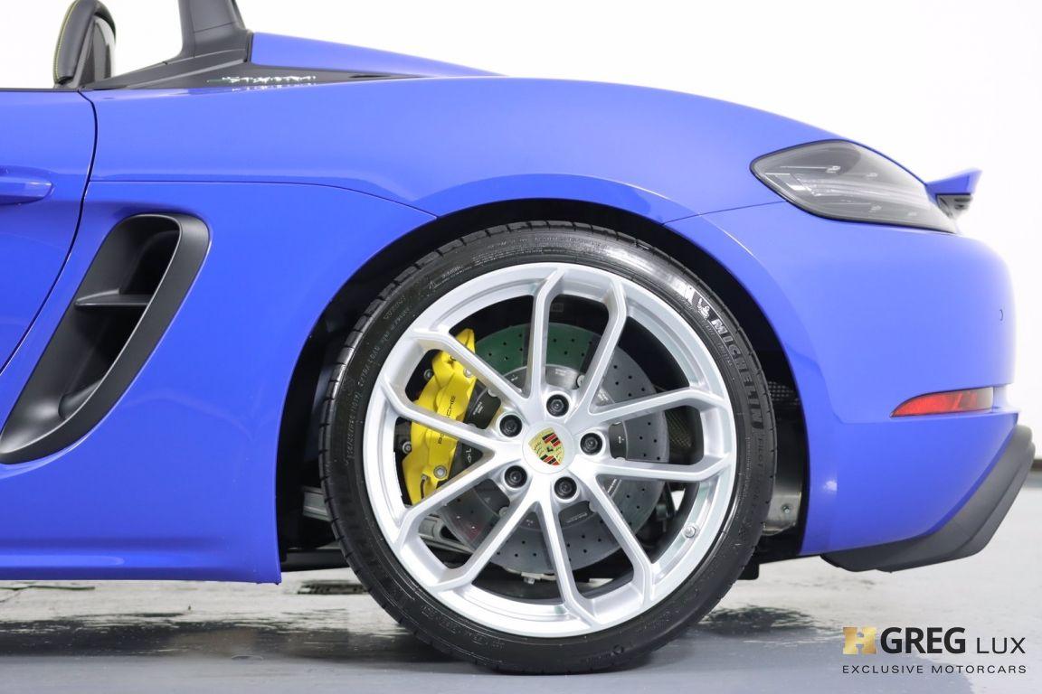 2021 Porsche 718 Spyder  #26