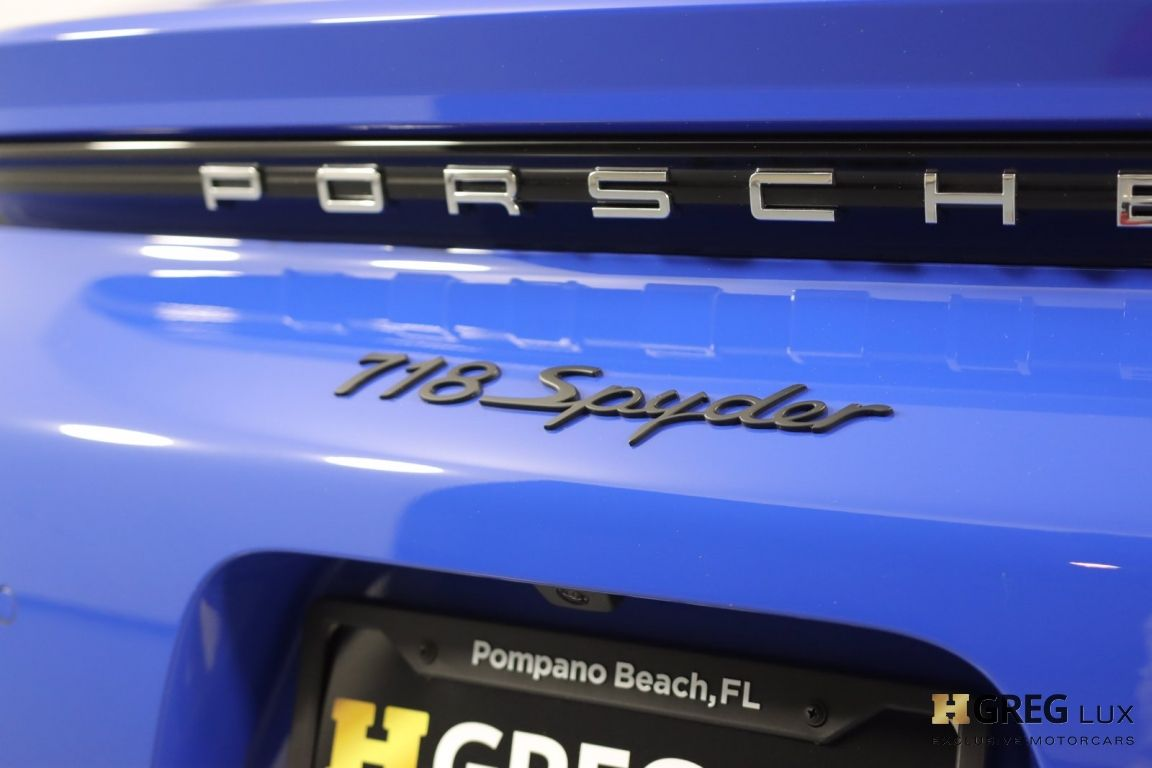 2021 Porsche 718 Spyder  #21