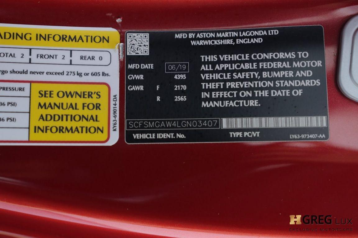 2020 Aston Martin Vantage  #48