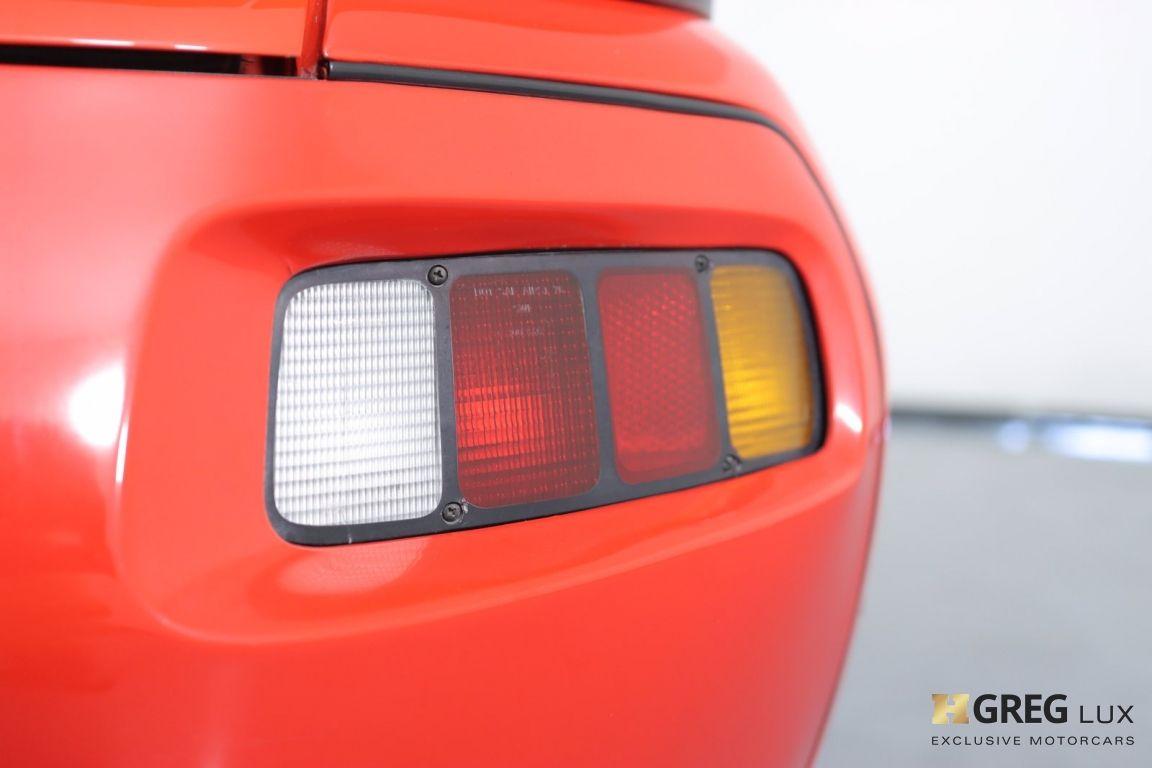 1986 Porsche 928  #18