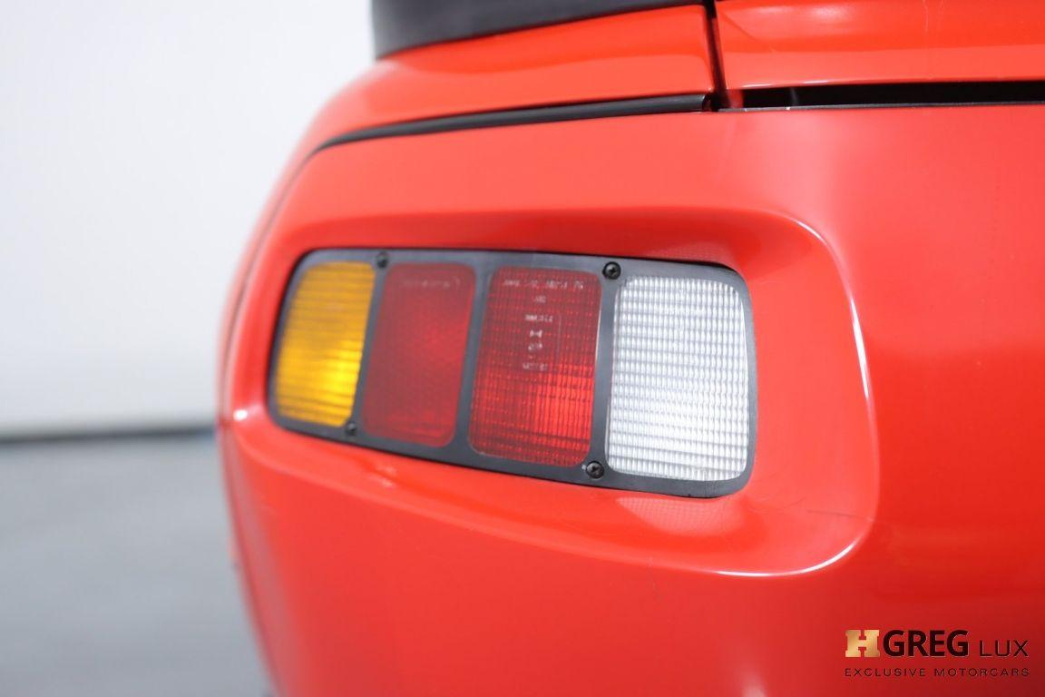 1986 Porsche 928  #17