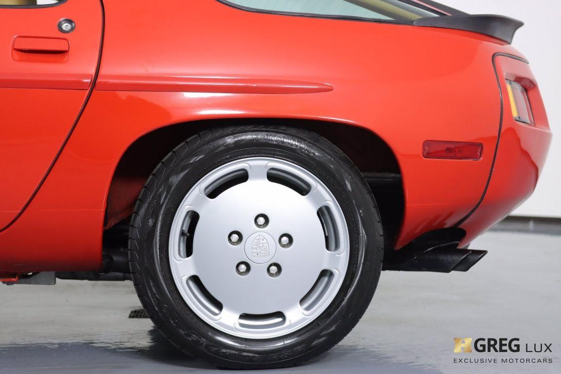1986 Porsche 928  #23