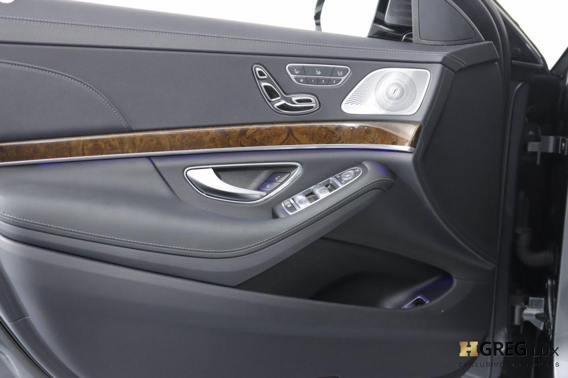 2017 Mercedes Benz S Class AMG S 63 #36