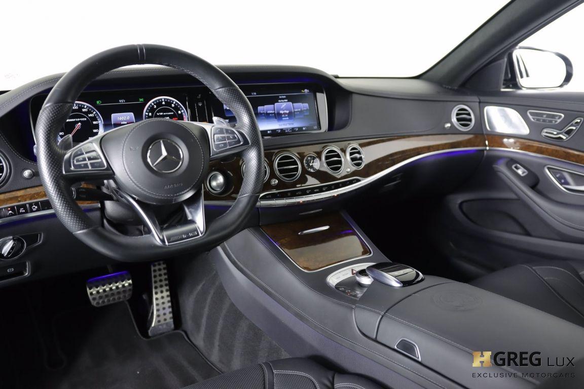 2017 Mercedes Benz S Class AMG S 63 #1