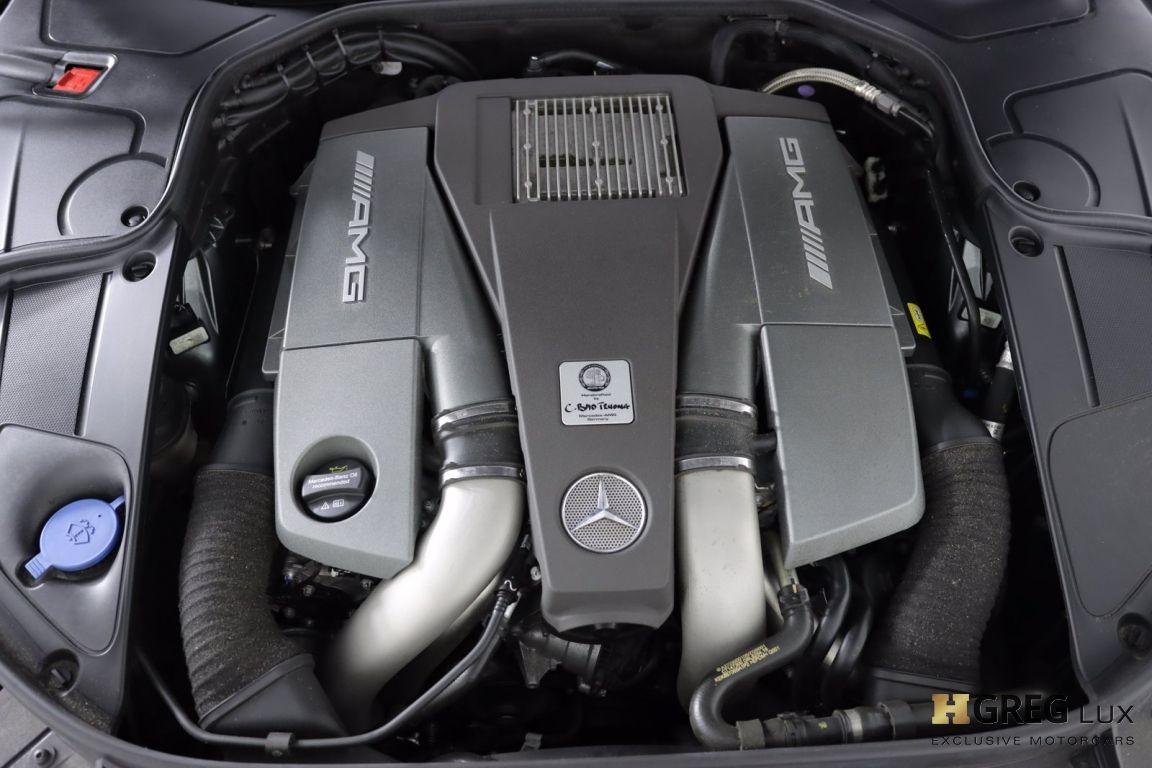 2017 Mercedes Benz S Class AMG S 63 #52