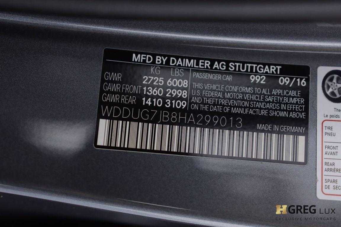 2017 Mercedes Benz S Class AMG S 63 #55
