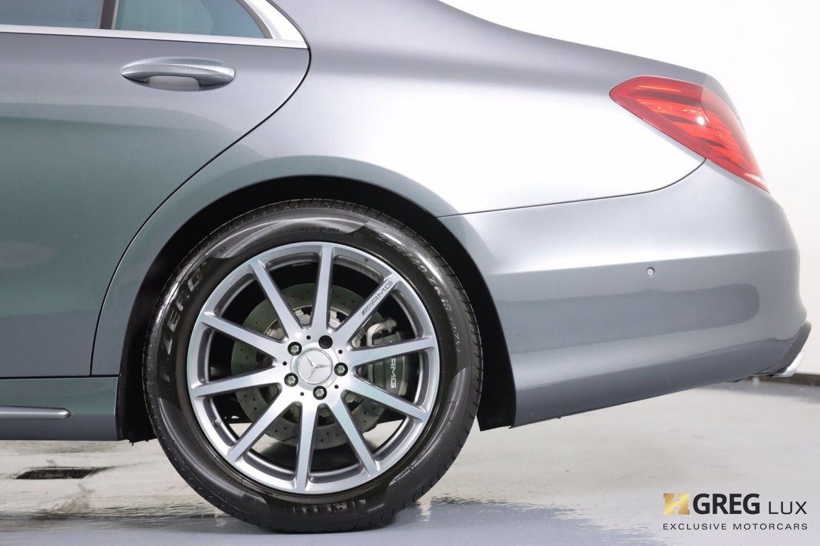 2017 Mercedes Benz S Class AMG S 63 #24