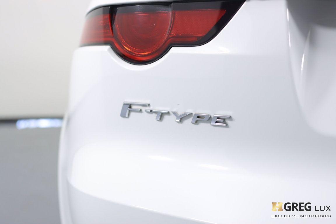 2018 Jaguar F TYPE 340HP #20