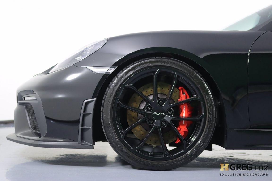 2020 Porsche 718 Cayman GT4 #22