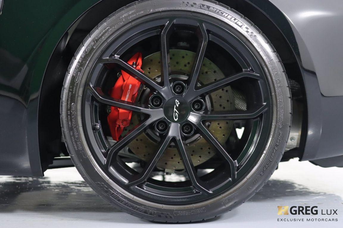 2020 Porsche 718 Cayman GT4 #25