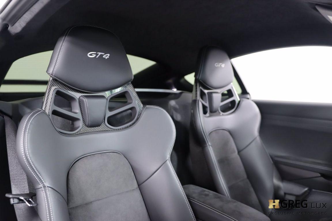 2020 Porsche 718 Cayman GT4 #30