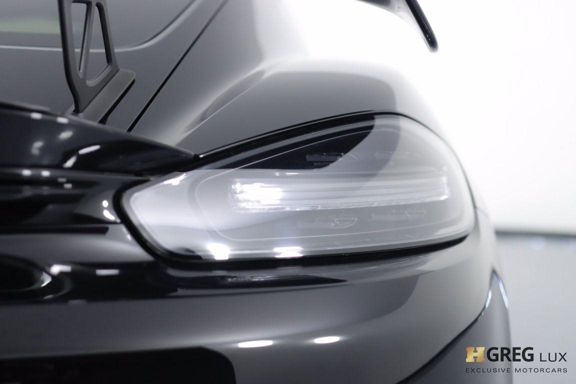2020 Porsche 718 Cayman GT4 #18