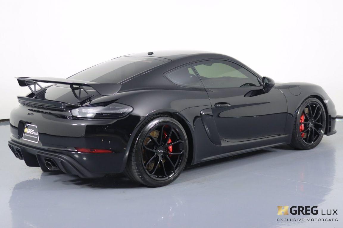 2020 Porsche 718 Cayman GT4 #15