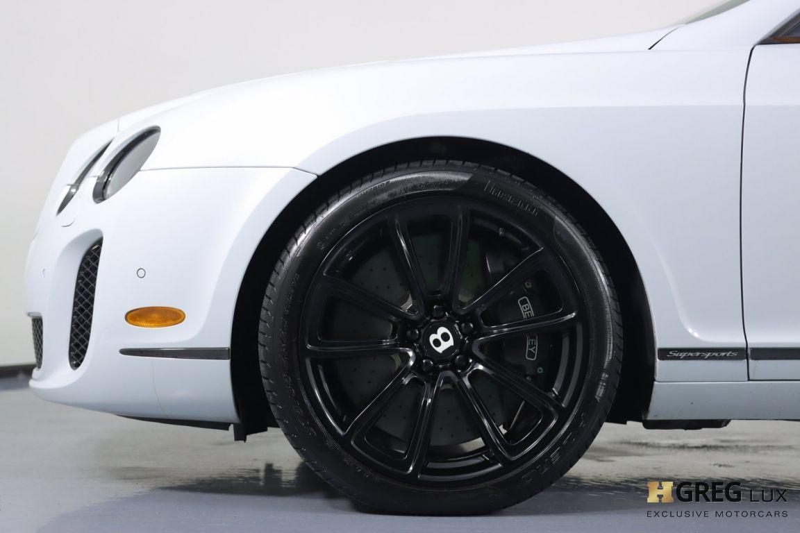 2010 Bentley Continental Supersports Supersports #22