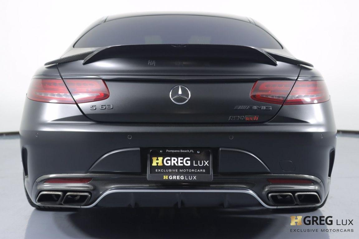 2016 Mercedes Benz S Class AMG S 63 #16