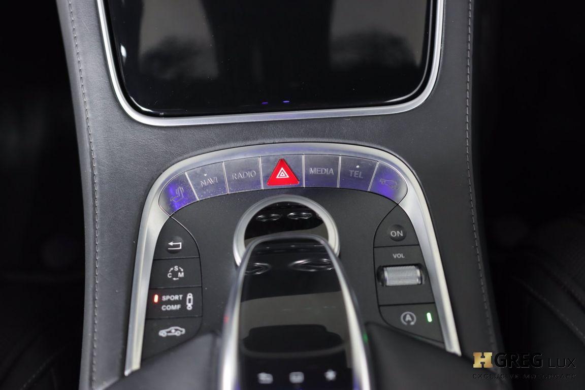 2016 Mercedes Benz S Class AMG S 63 #45