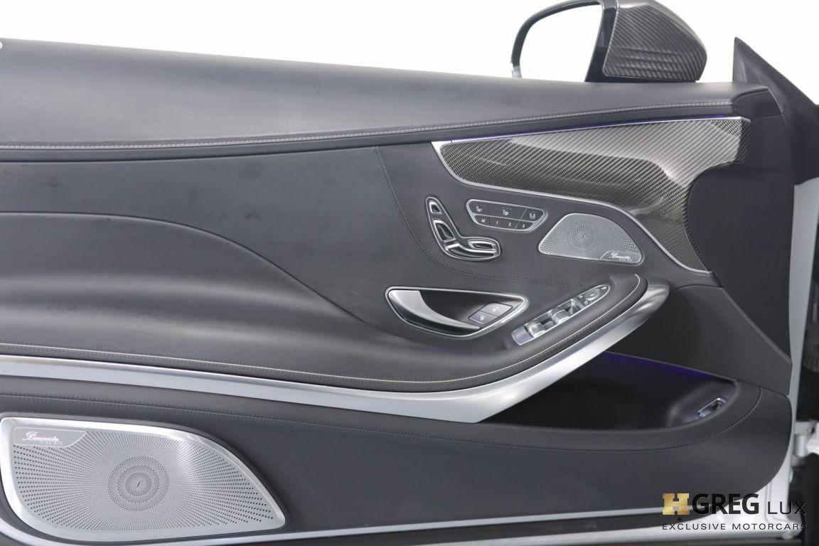 2016 Mercedes Benz S Class AMG S 63 #37