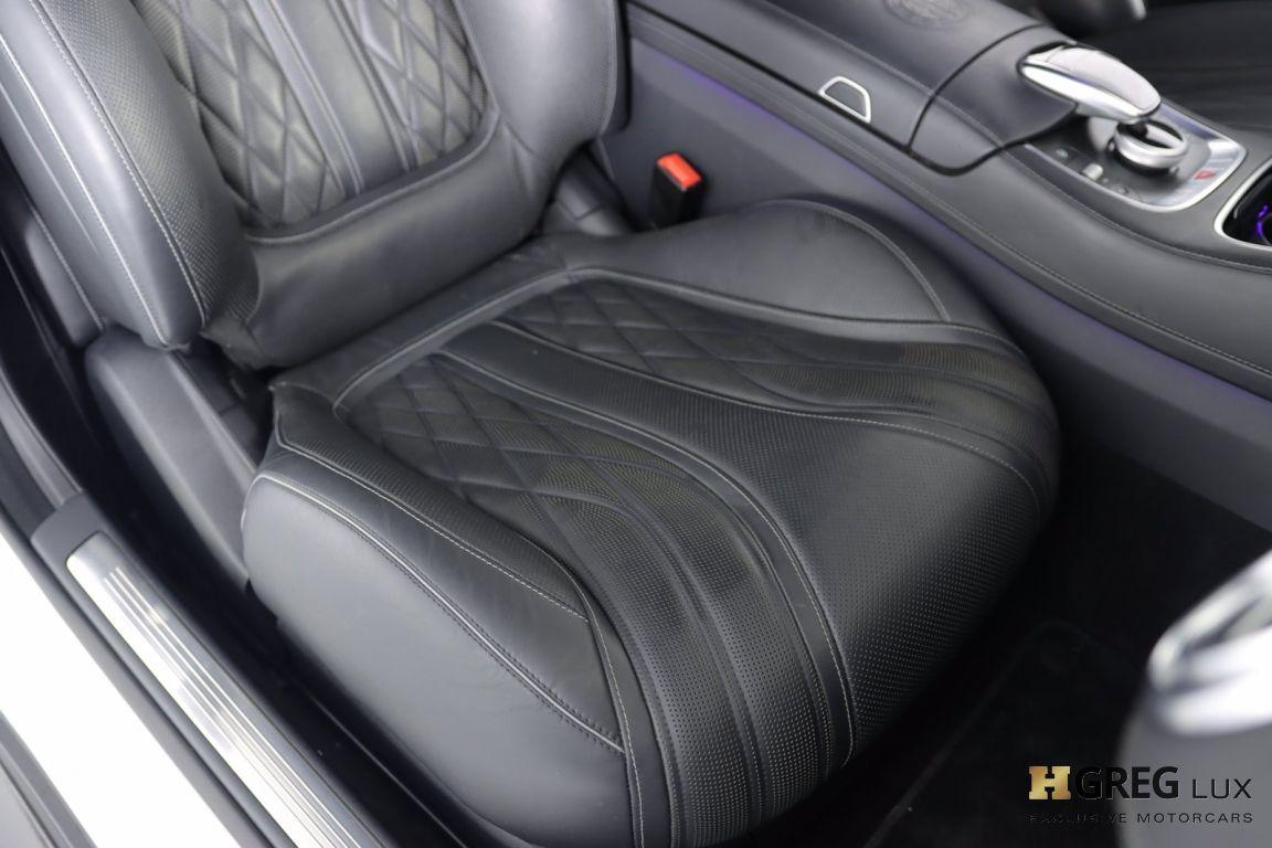 2016 Mercedes Benz S Class AMG S 63 #34