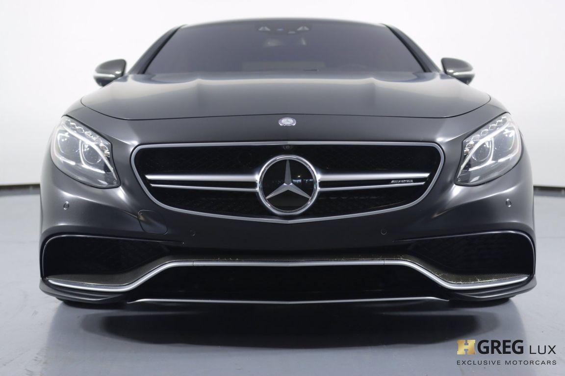 2016 Mercedes Benz S Class AMG S 63 #3