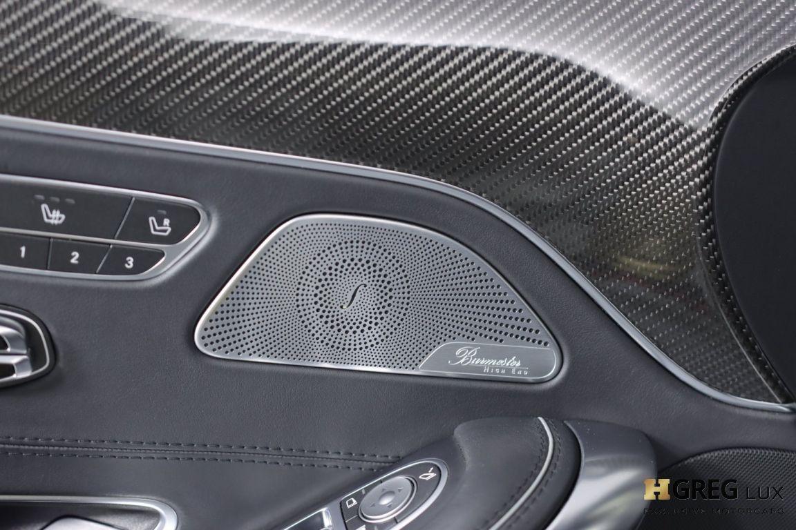 2016 Mercedes Benz S Class AMG S 63 #39