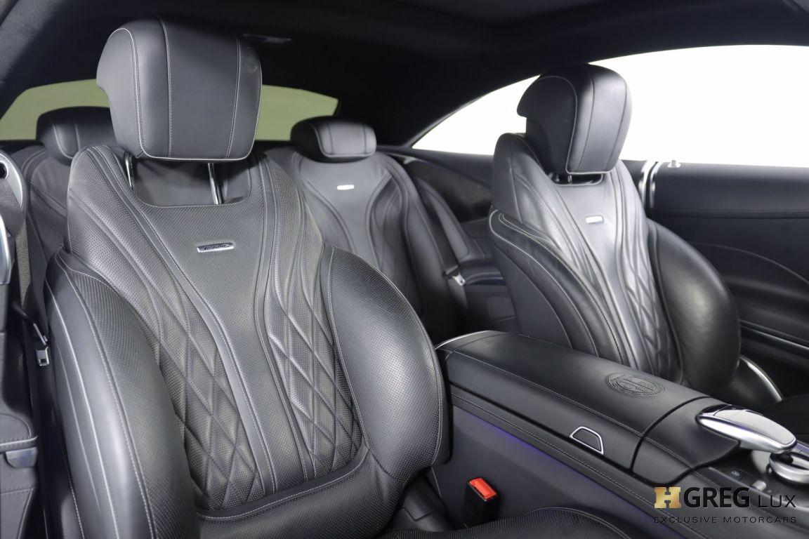2016 Mercedes Benz S Class AMG S 63 #33