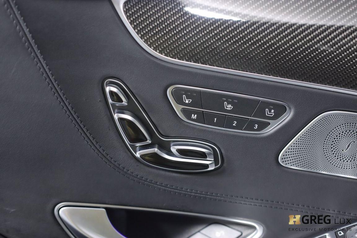 2016 Mercedes Benz S Class AMG S 63 #40