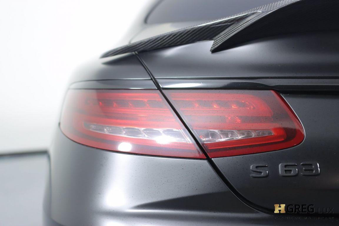 2016 Mercedes Benz S Class AMG S 63 #17