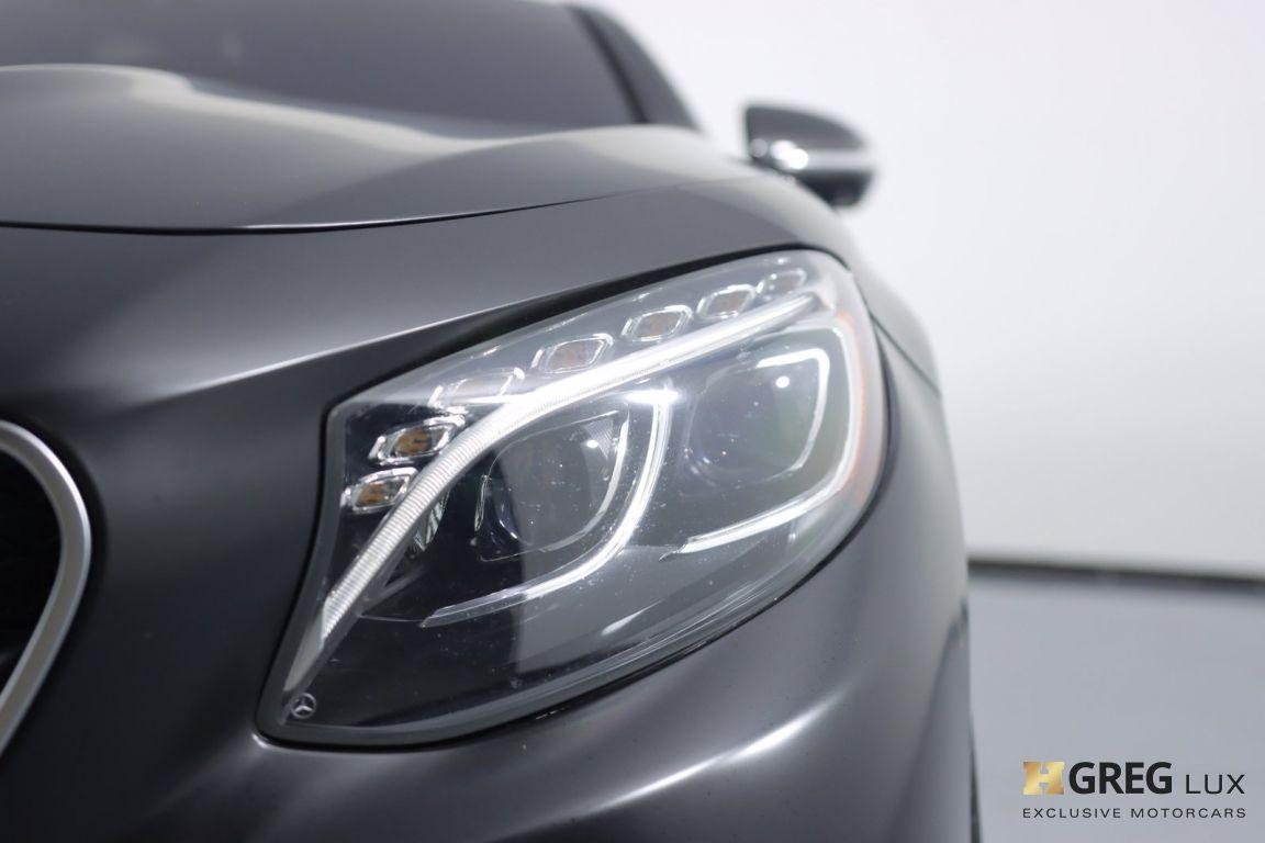 2016 Mercedes Benz S Class AMG S 63 #5